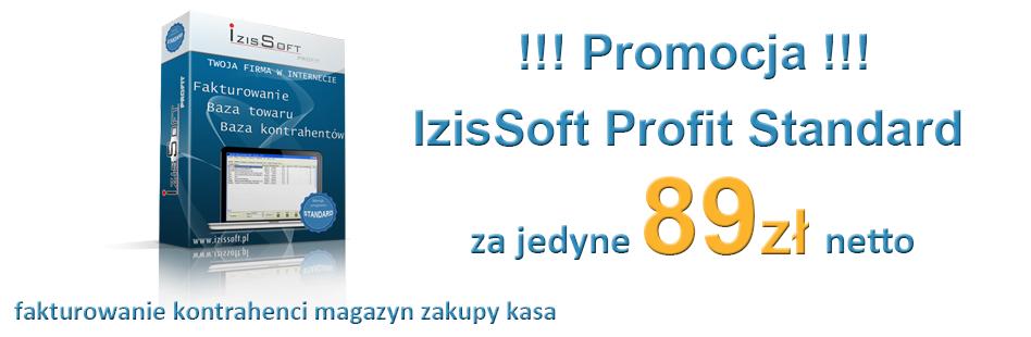 Promocja Izissoft Profit Standard